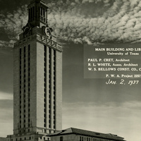 To Better Know a Building: The University of Texas Tower reception
