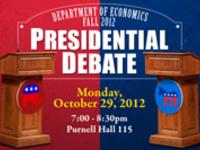 Dept of Economics Presidential Debate