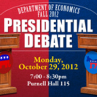 Dept of Economics Presidential Debate