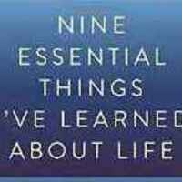 Sunday Jewish Book Group: Nine Essential Things I've Learned About Life