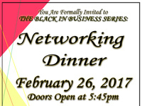 Black in Business Series: Networking Dinner