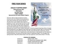 Free Film Series! Wednesdays @ 7pm