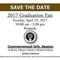 Graduation Fair for Class of 2017