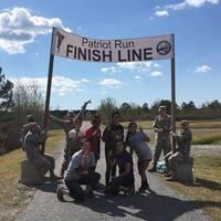 East Carolina ROTC Patriot Run