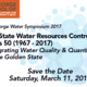 McGeorge Water Symposium 2017