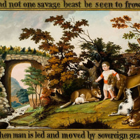 "Object of the Month: ""Peaceable Kingdom of the Branch"""