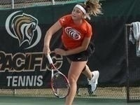 Pacific Women's Tennis at Portland