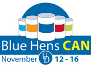 Blue Hens CAN Food Drive
