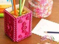 Make-aroni! Craft Your Own Pencil/Pen/Crayon Holder
