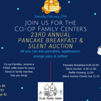 23rd Annual Pancake Breakfast and Silent Auction