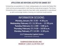 Gilman International Scholarship Info Session