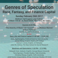 Genres of Speculation: Race, Fantasy, and Finance Capital