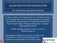 Salary Negotiation Presentation