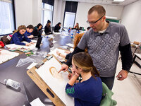 RISD Young Artist President's Day Workshops