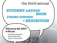 Student Artists' Book Juried Contest and Exhibition Opening and Awards Announcement