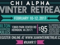 Chi Alpha Winter Retreat