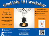 Grad Info 101 Workshop