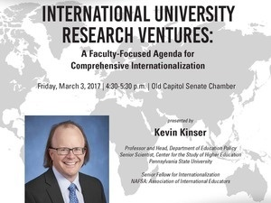 Commitment to Internationalization Lecture Series - Kevin Kinser