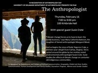 'The Anthropologist' with special guest Susie Crate