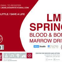 Spring Blood & Bone Marrow Drive