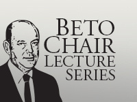 Beto Chair Lecture: Edward R. McGuire, Arizona State University