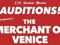 Auditions for The Merchant of Venice