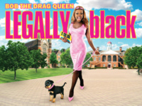 "Bob the Drag Queen starring in Peaches Christ's ""Legally Black"""