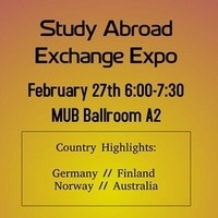 Study Abroad Exchange Expo