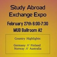 Study Abroad Exchange Expo