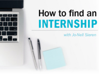 How to Find an Internship with Jo-Nell Sieren