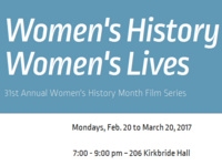 31st Annual Women's History Month Film Series