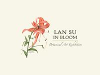 Lan Su in Bloom Botanical Art Exhibition