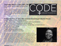 Gender, Race, and Technology: Gender Studies and Ethnic Studies Student Research Conference