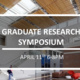 BSE Graduate Research Symposium