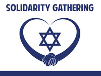 Solidarity Gathering for Jewish Friends at TU