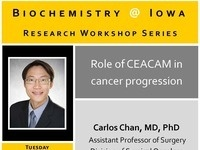 Biochemistry Workshop: Carlos Chan
