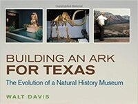 Author Walt Davis and his book about the History of the Dallas Museum of Nature and Science