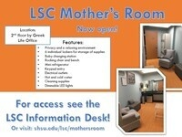 "LSC ""Mother's Room"" Now Open"