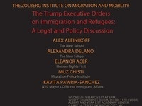 The Trump Executive Orders on Immigration and Refugees: A legal and policy discussion