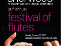 20th Annual Festival of Flutes