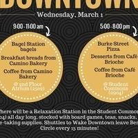Study/ Eat/ Wake Downtown