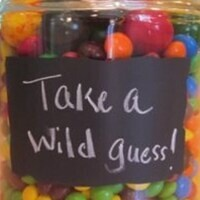 Guess how many candies are in the jar?