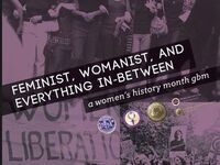 Feminism, Womanism, and Everything in-between