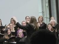 University Chorus, Audrey Cardany, director.