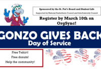 Gonzo Gives Back Day of Service