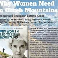 Why Women Need to Climb Mountains – A Journey through the Life and Work of Dr. Gerda Lerner