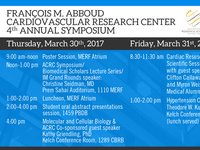 4th Annual Abboud Cardiovascular Research Center Symposium