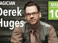 PERKINS LIVE: Derek Hughes who was on America's Got Talent