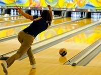 Bowling Together with Prospective Students