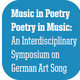 An Evening of German Poetry and Song
